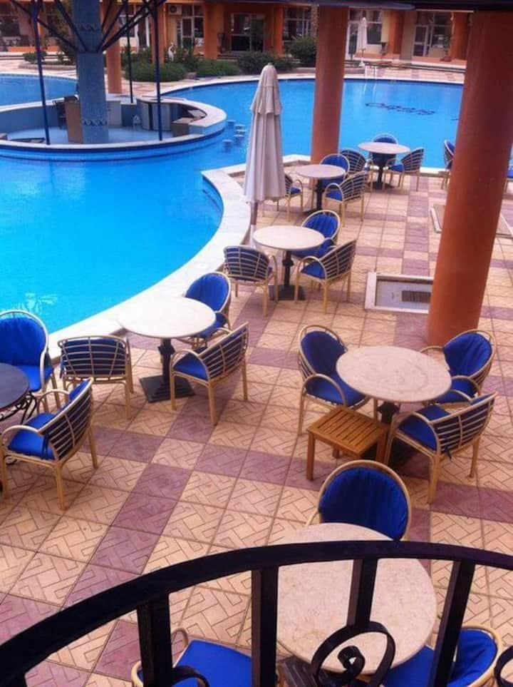 Oasis Resort Hurghada,two bedrooms, swimming pools