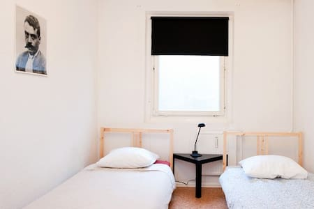 Cheap & Top Located Twin Room  - Berlin - Apartment