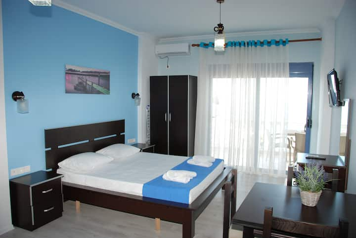 Hotel Keos Double room with sea view
