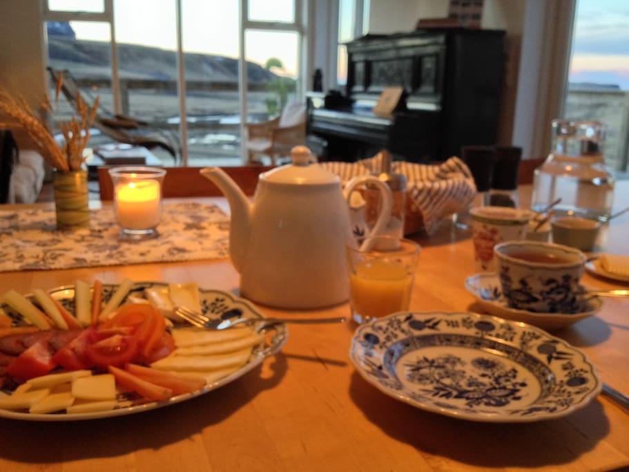 our breakfast, get a good start!