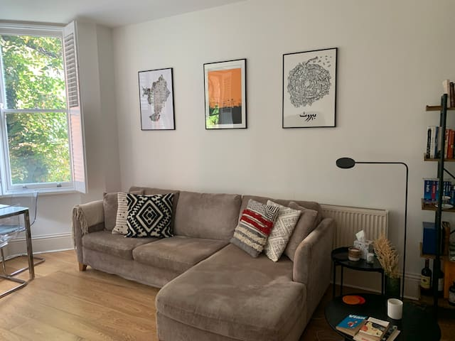 Great London one-bedroom flat