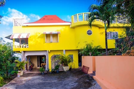 Ackee Tree Sea View Villa (Orange room)