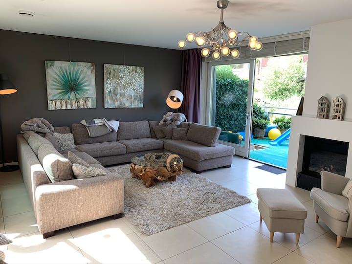 Beautiful spacious family house in Leiden (220m2)