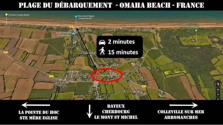 0630 Omaha Beach - Sea cottage