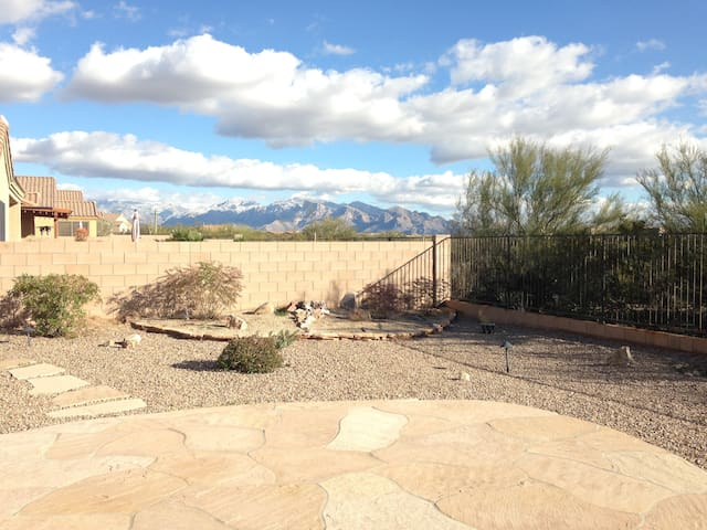 Air Shoe-B-Do-Cozy Backyard Desert! - Marana - Hus