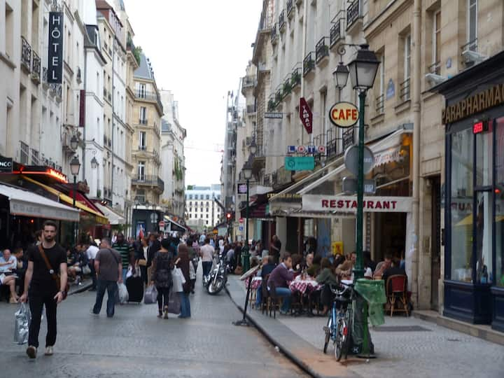 """Paris Centre, Quiet, Cosy. 32 Sq M """"Bail Mobilité"""""""