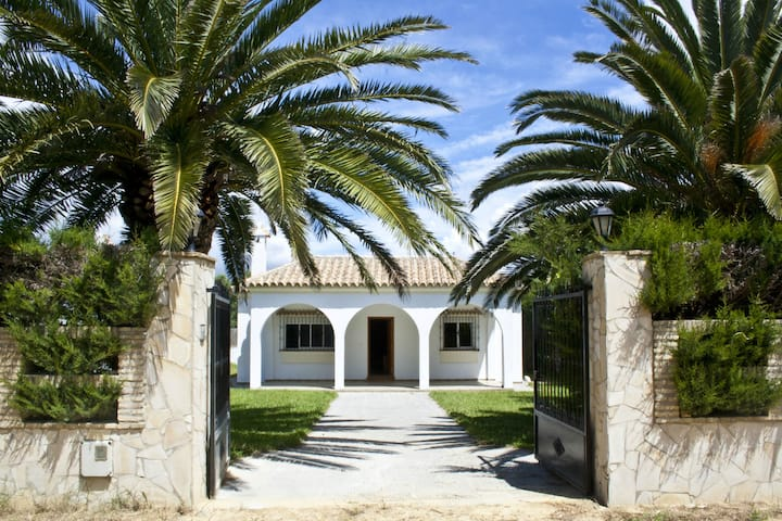 Spacious villa close to beach in Conil