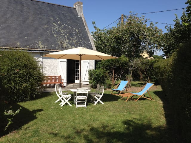 House for 6 - 30m to the beach - Damgan - Huis