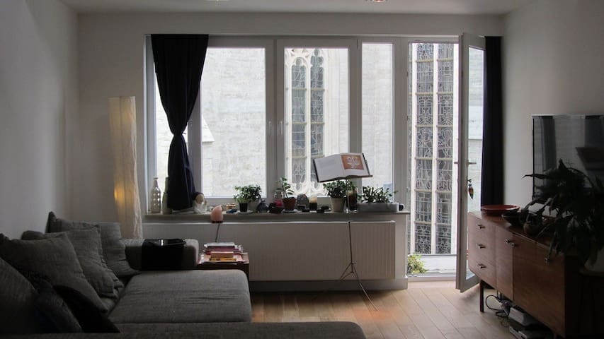 Charming Studio 50 Sq. m - terrace - Ixelles - Appartement