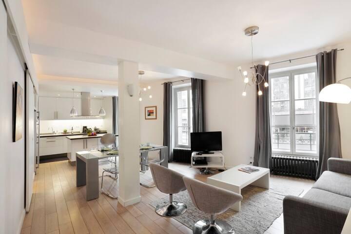 Wonderful 3 Bedroom, Saint Germain - Paris - Apartemen