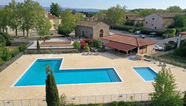 Appt 5 pers Rés 3***  près Carcassonne et Narbonne