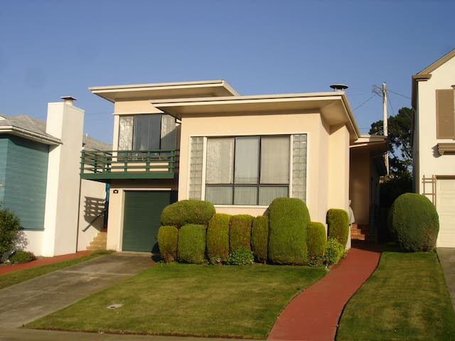 San Francisco/Daly City Guest House - Daly City - Huis