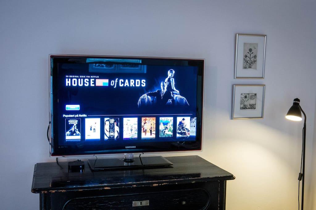 Free Wi-Fi, Kabel TV + Netflix