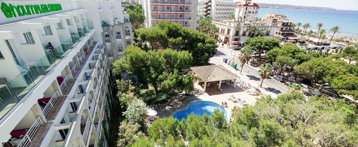 Superior 1 bedroom Apartment in Playa de Palma - Hotel for family tourism