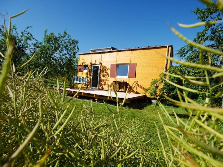Tiny-House I Biolandhof Bodensee
