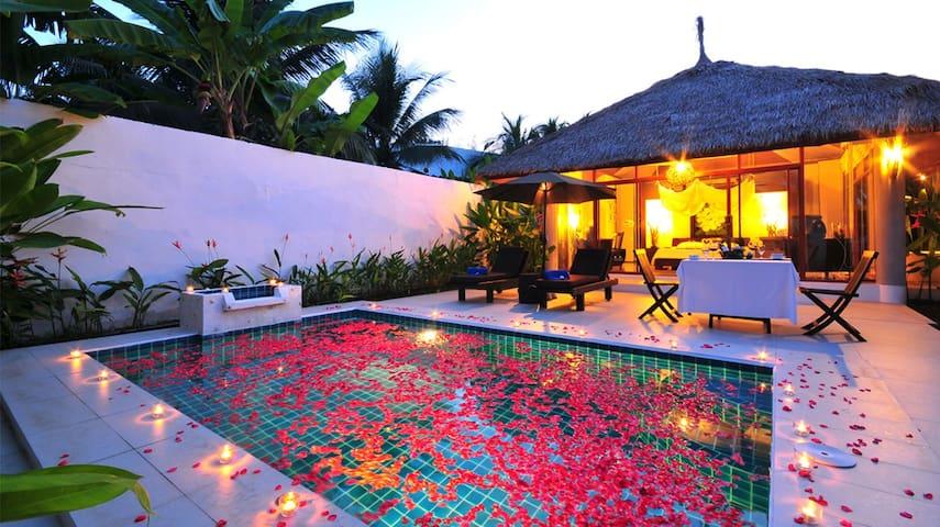 Villa with private poolบ้านพร้อมสระ - Hin Lek Fai - Ev