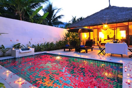 Villa with private poolบ้านพร้อมสระ - Hin Lek Fai - Rumah