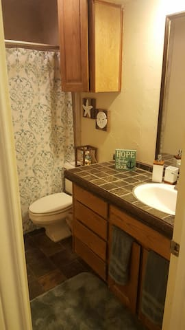 Private room and bathroom - Fort Worth - House