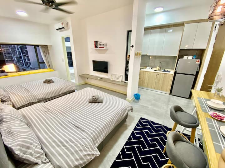 MWHolidayA1709 Cozy Family Suites+HighSpeed WIFI