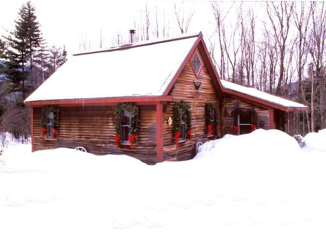 Romantic Cabin 1 Bdrm + Loft & Wood Stove