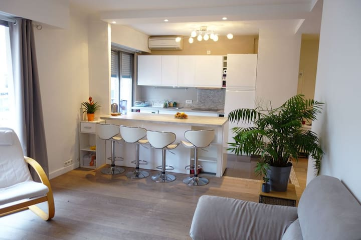 Room in Antibes city center - Antibes - Appartement