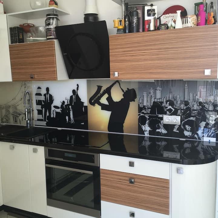 """Apartment """"MUSIC STUDIO"""""""