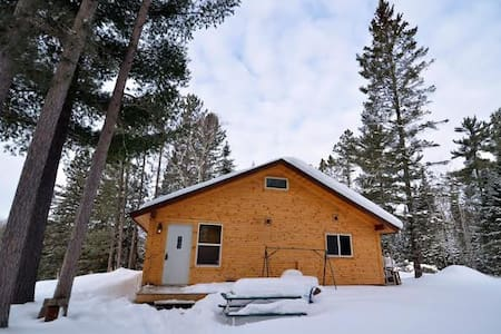 Wonderful cabin on the Brule River - Brule