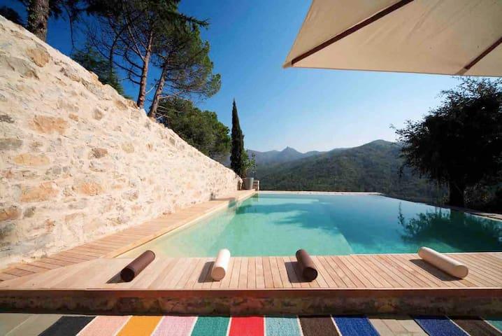 Country villa, pool, Cinque Terre - Castiglione Chiavarese