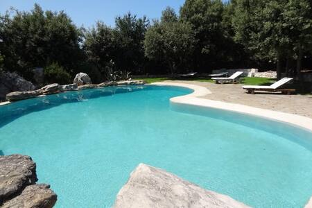 charming villa on the hills - Marinelli
