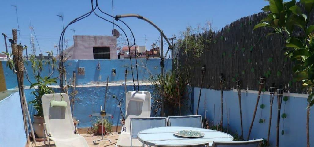 Habitación tranquila 2 personas, Alameda Hercules - Sevilla - Apartment