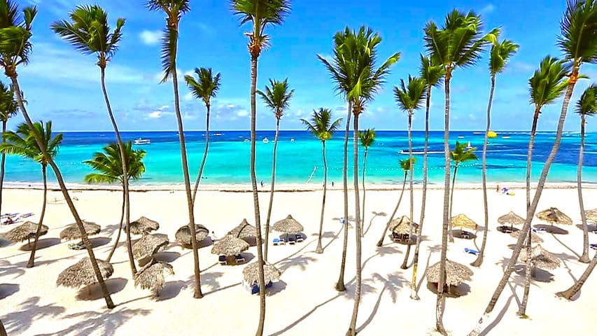 Punta Cana is the most beautiful place in the world, first-class vacation here is the choice of a million of travelers every year!