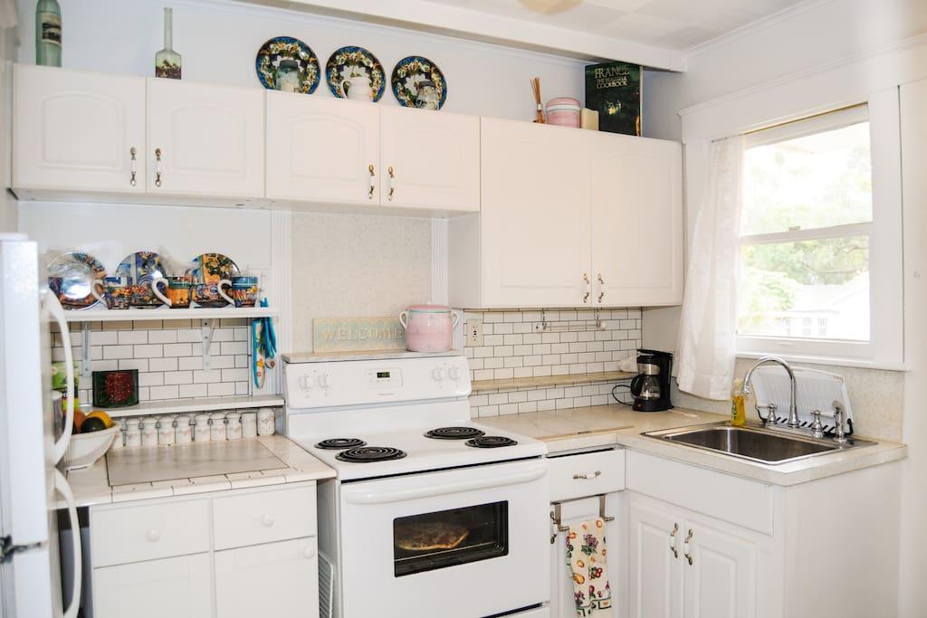 kitchen built for efficiency