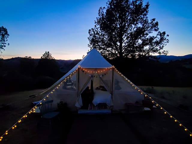 Iron Gate Ranch Glamping site #1