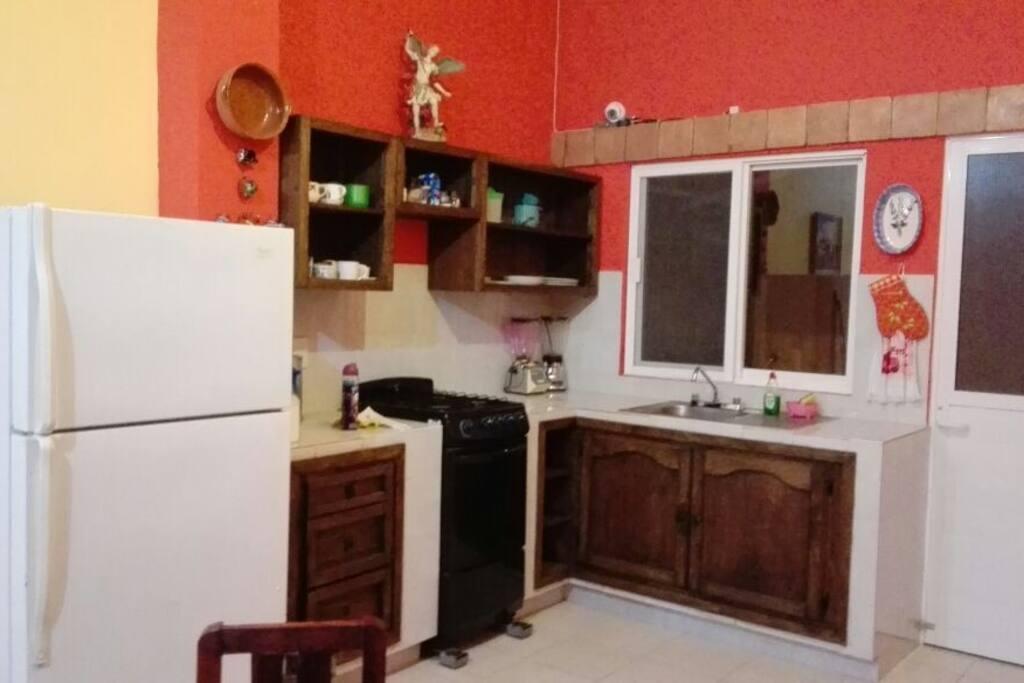Cocina compartida shared area