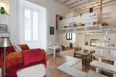 Estudio loft centro Tarifa(pata09) - 塔里法 - 公寓