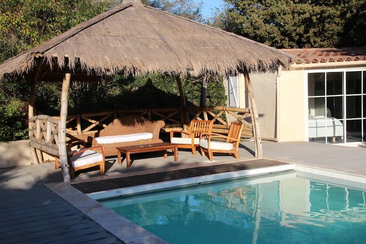 Villa La Toulouna 16 pers - Piscine - 600m plage