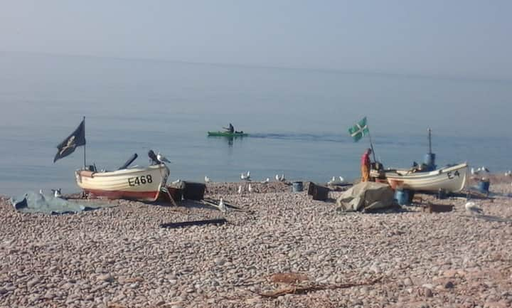 Quiet retreat to Budleigh Salterton