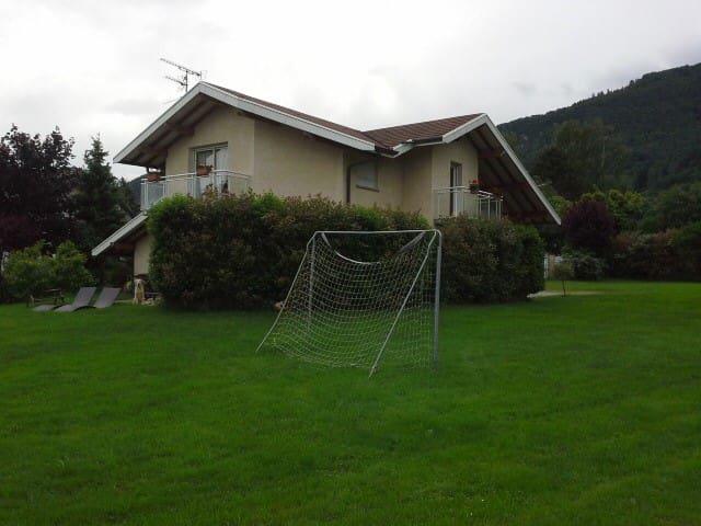 maison entre lac leman et montagnes - Cervens - House