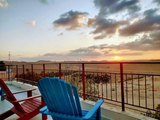 Ein Mor - Desert view house #2  Mitzpe Ramon