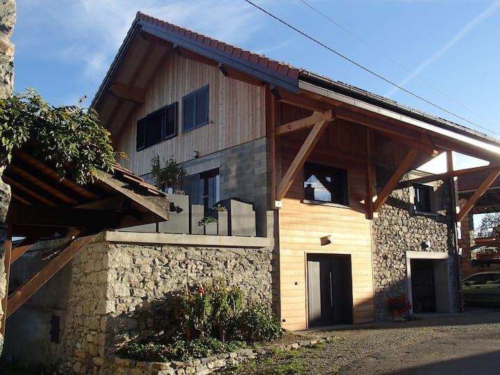 Chbre Larringes, Hte-Sav, proch Evian, station ski