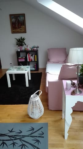 Charming and modern under roof flat in Trelleborg - Trelleborg - Huoneisto
