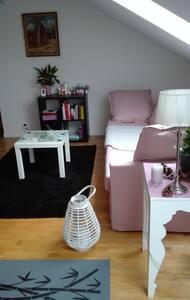 Charming and modern under roof flat in Trelleborg - Trelleborg - Apartmen