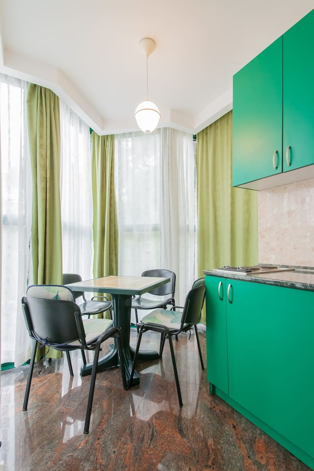 Green Apartment in private villa
