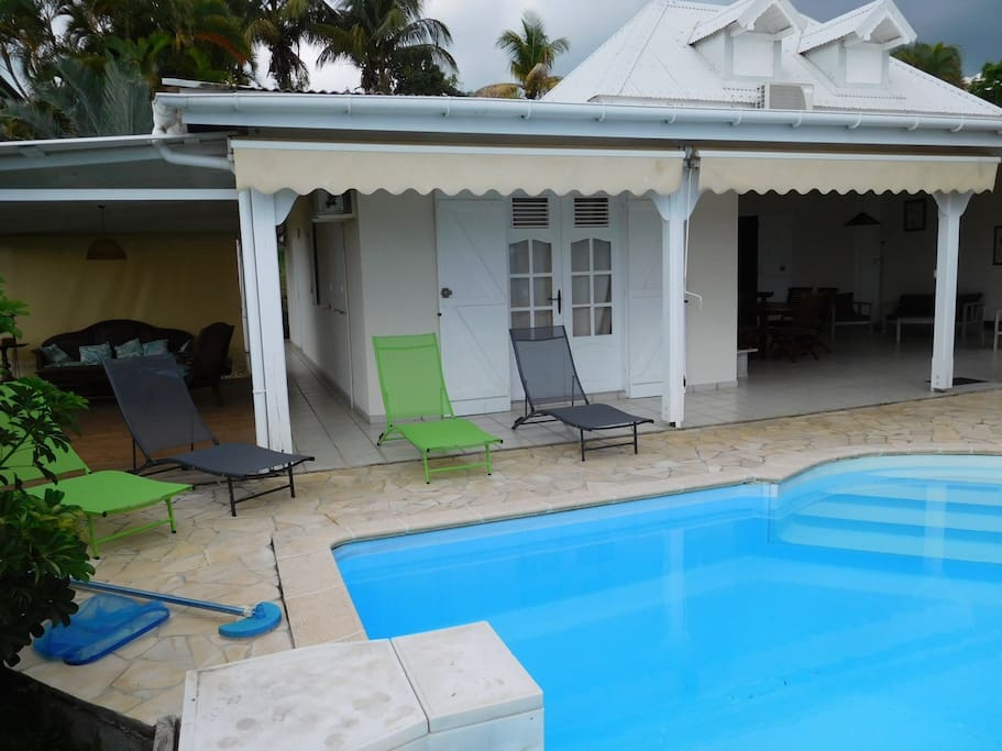 Charming Villa With Swimming Pool Villas For Rent In Saint Claude Guadeloupe