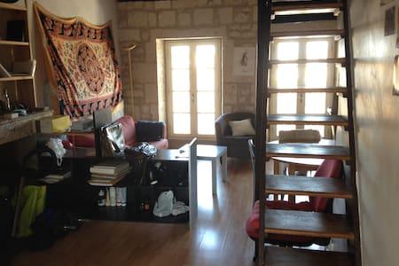 Chambre appt centre historique - Apartemen