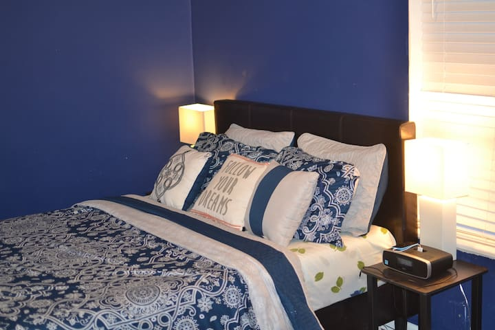 Guests have commented on how comfortable the memory foam mattress ismattress