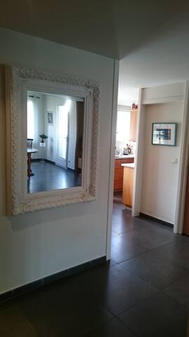 Appartement avec chambre duplex