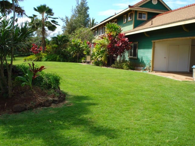 Home on 1/2 Acre Across from Beach; Private