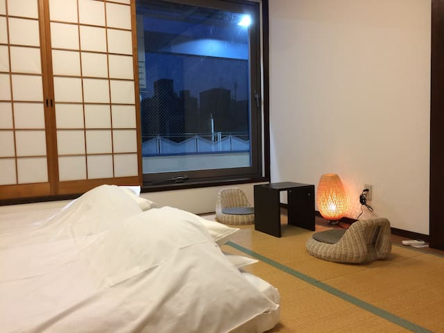 Japanese-Style Triple Room with Shared Bathroom - Nara-shi - Bed & Breakfast
