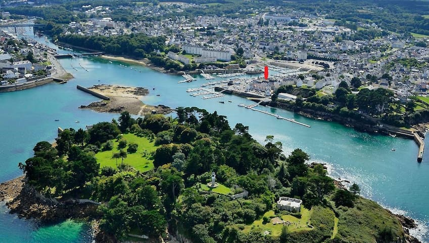 T3 avec cour privative à Tréboul, Finistère Sud